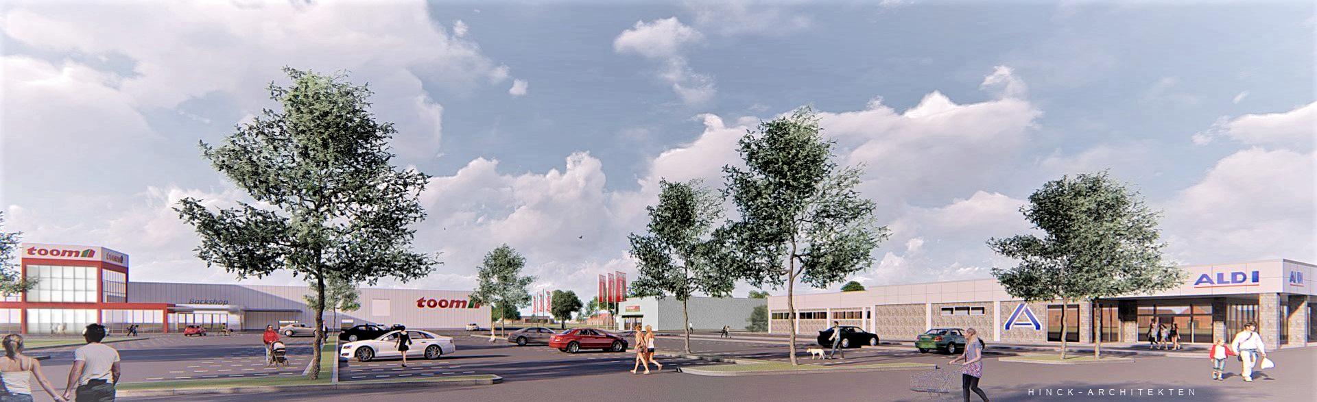 Fachmarktzentrum  Freiburger Strasse in Stade 2018