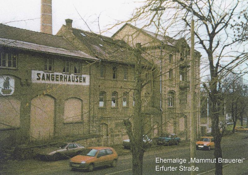 Sangerhausen, Schützenplatz Vorher: Mammut-Brauerei