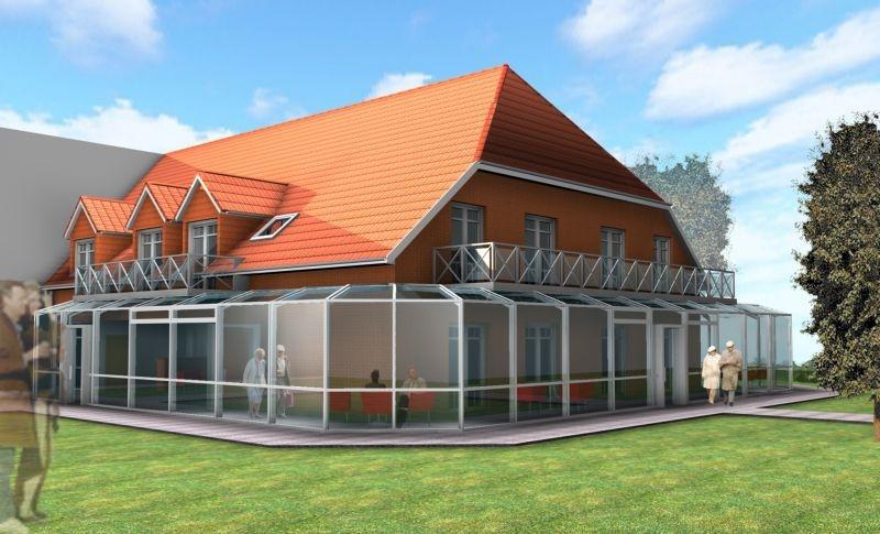 Nordfriesland, Anbau Eines Altenpflegeheims Mit Demenzabteilung Baujahr: 2005 / Nutzfläche: Ca. 1.000 M²