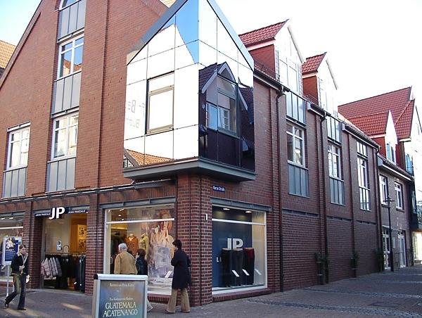 Stade, Holzstraße/Kurze Straße Neubau Eines Geschäftshauses JP Baujahr: 2000