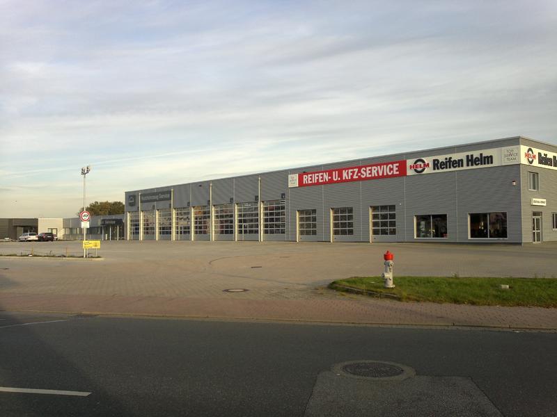 Stade, Gottlieb-Daimler-Straße Umbau Eines Gewerbeobjektes Baujahr: 2010-12 / Nutzfläche: Ca. 7.450 M²
