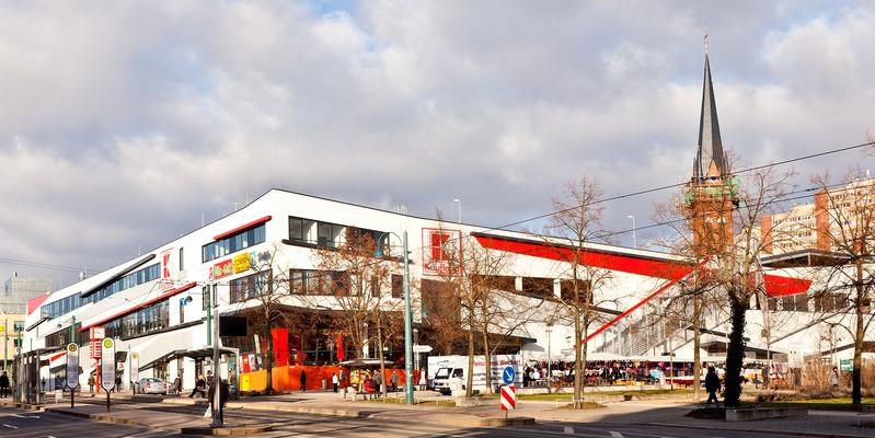 Frankfurt-Oder, Heilbr. Str./Franz-M.-Str. Neubau Eines Geschäftshauses Baujahr: 2006 / Nutzfläche: Ca. 9.300 M²