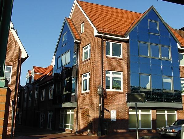 Stade, Kurze Straße/Am Sande Neubau Eines Geschäftshauses Baujahr: 2000