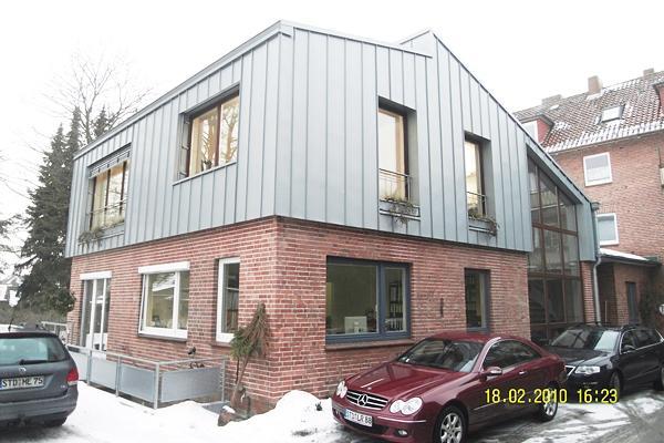 Stade, Thuner Straße Aufstockung Des Bürohauses Der Firma Menke, Bauunternehmen, Baujahr: 2007