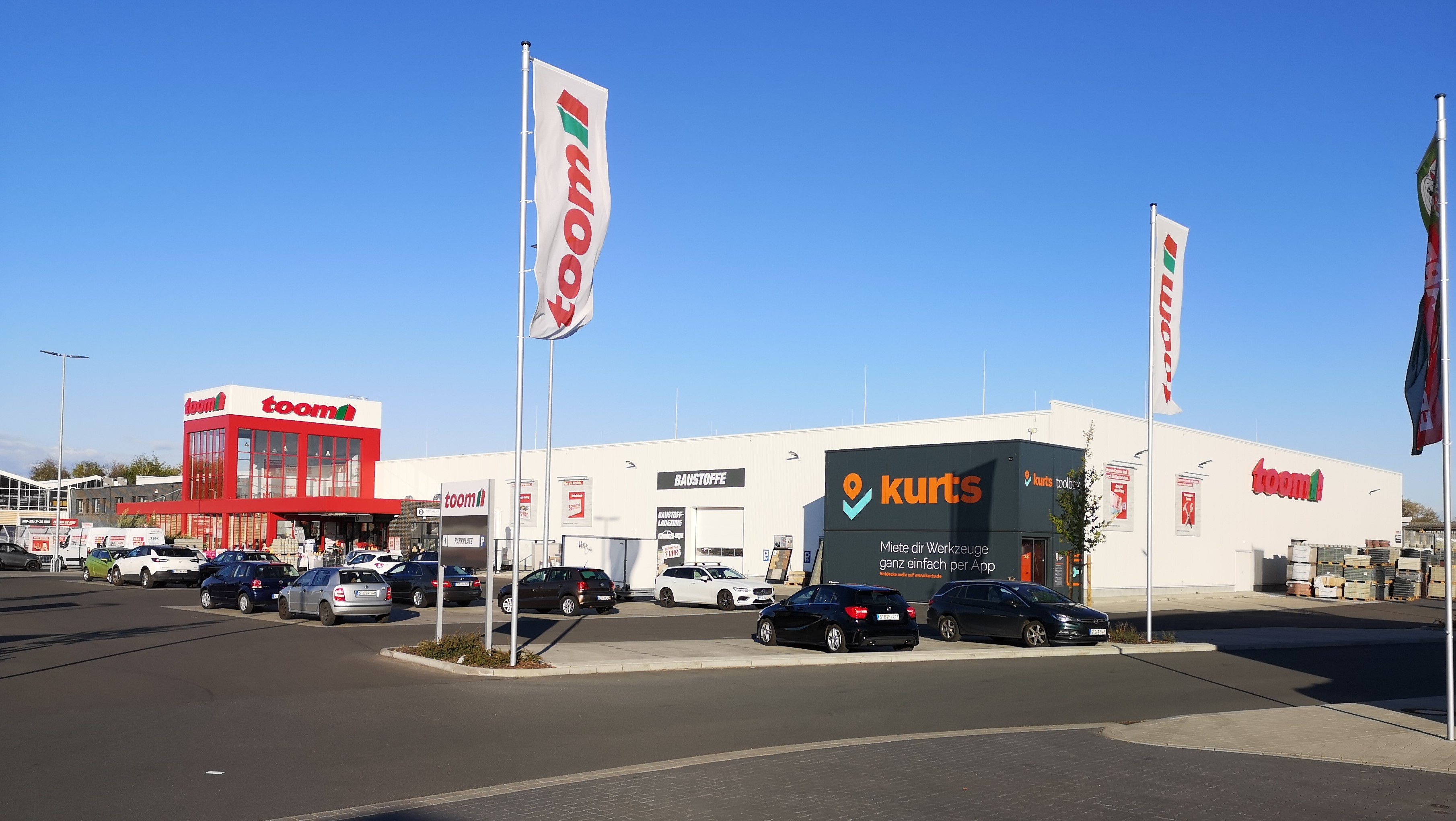 Fachmarktzentrum Freib. Str. In Stade, 2018/19, Nutzfläche : Ca. 12.300 M²